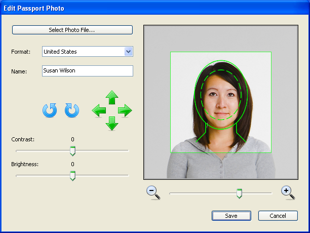 Passport Photo Studio Macintosh Resimler